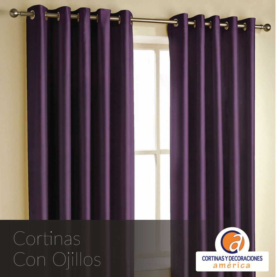 Cortinas am rica cortinas y decoraciones - Cortinas y decoracion ...